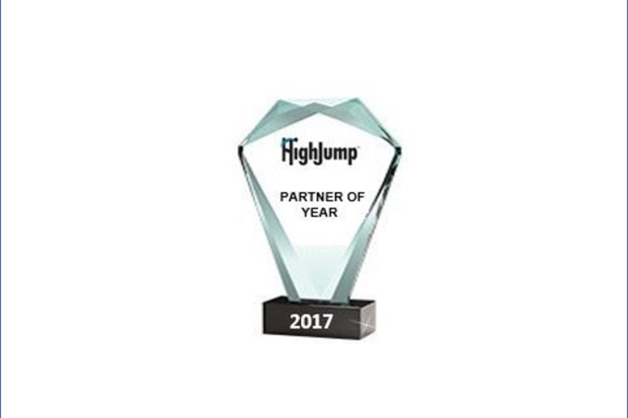 iWMS NAMED AS HIGHJUMP 2017 GLOBAL PARTNER OF THE YEAR