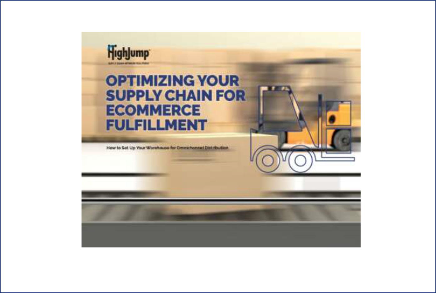 OPTIMISING YOUR SUPPLY CHAIN FOR ECOMMERCE FULFILLMENT