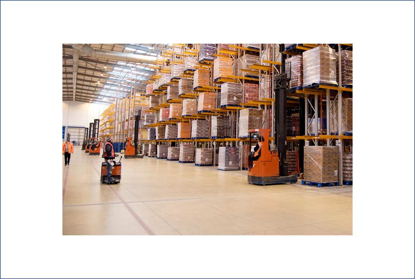 Top 5 benefits of warehouse automation