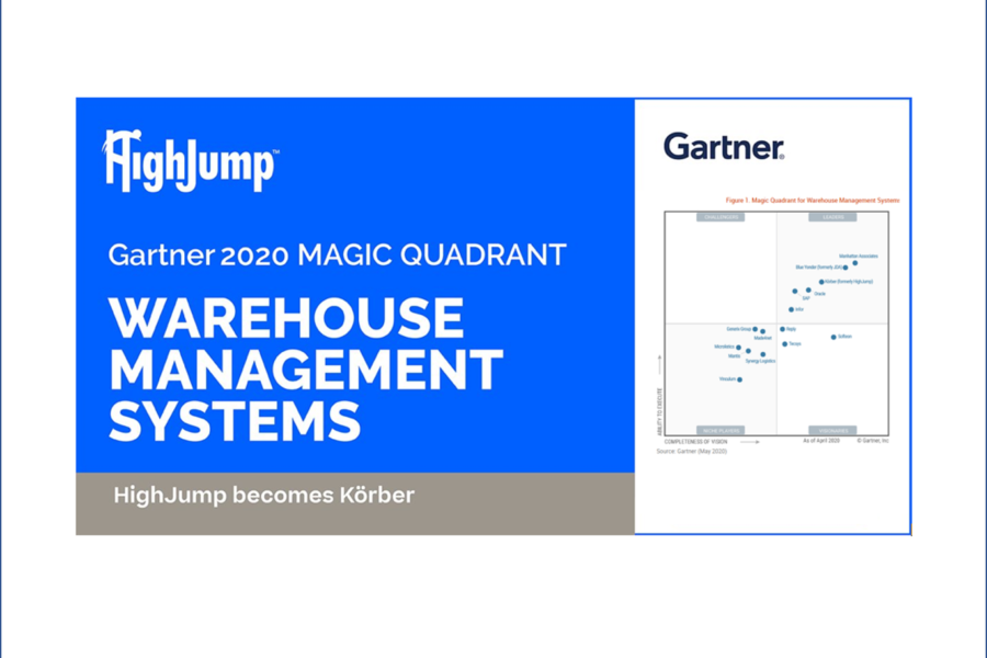 Kӧrber Supply Chain Named A Leader In Gartner 2020 Magic Quadrant  For Warehouse Management Systems